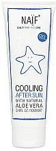 Düfte, Parfümerie und Kosmetik Kühlendes After Sun Gel mit Aloe Vera für Kindern - Naif Cooling After Sun Gel