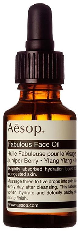 Feuchtigkeitsspendendes Gesichtsöl mit Wacholderbeere, Ylang-Ylang und Jasminblütenblatt - Aesop Fabulous Face Oil — Bild N1
