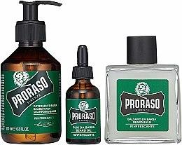 Bartpflegeset - Proraso Refreshing Gift Set (Bartshampoo 200ml + Bartbalsam 100ml + Bartöl 30ml) — Bild N2