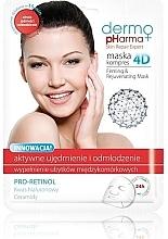 Düfte, Parfümerie und Kosmetik Verjüngende Gesichtsmaske mit Granatapfelextrakt - Dermo Pharma Skin Repair Expert Firming Rejuvenating Mask 4D