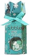 Düfte, Parfümerie und Kosmetik Badeset Marokkanischer Minztee - Bubble T Bath Fizzy Moroccan Mint Tea (Badebombe 100g + Badekonfetti 25g)