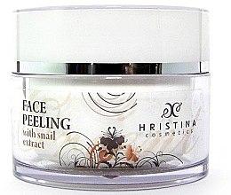 Düfte, Parfümerie und Kosmetik Gesichtspeeling mit Schneckenextrakt - Hristina Cosmetics Orient Snail Peeling