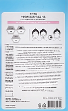 Feuchtigkeitsspendende Tuchmaske mit Kollagen - Coscodi Hydrolyzed Collagen Moisturized Mask Sheet — Bild N2