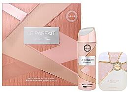 Düfte, Parfümerie und Kosmetik Armaf Le Parfait Pour Femme - Duftset (Eau de Parfum 100ml + Deospray 200ml)