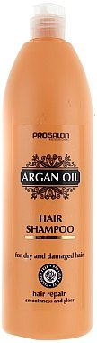 Shampoo mit Arganöl für trockenes und strapaziertes Haar - Prosalon Argan Oil Shampoo  — Bild N1