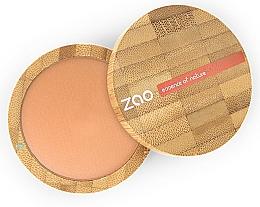 Düfte, Parfümerie und Kosmetik Mattierender Bronzierpuder für das Gesicht - Zao Natural Glow Terracotta Matt Mineral Cooked Powder