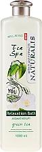 Düfte, Parfümerie und Kosmetik Entspannendes Badeöl mit grünem Tee - Naturalis Tea Spa Relaxation Bath