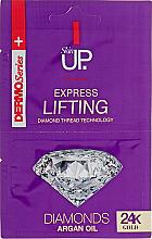 Düfte, Parfümerie und Kosmetik Lifting-Gesichtsmaske mit 24-Karat-Gold, Diamanten und Arganöl - Verona Laboratories DermoSeries Skin Up Express Lifting Diamonds 24k Gold