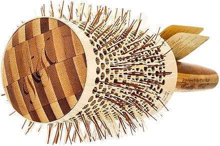 Klimafreundliche runde Bambusbürste d.63 - Olivia Garden Healthy Hair Eco-Friendly Bamboo Brush — Bild N2