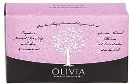 Düfte, Parfümerie und Kosmetik Seife Olive und Lavendel - Olivia Beauty & The Olive Tree Natural Bar Soap With Olive Oil And Lavender Oil