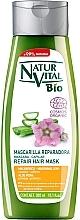 Düfte, Parfümerie und Kosmetik Pflegende und reparierende Haarmaske mit Aloe Vera und Marshmallow-Extrakt - Natur Vital Bio Repair Hair Mask