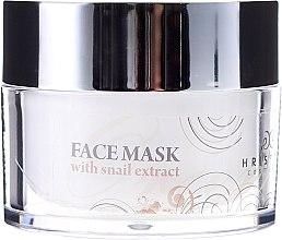 Düfte, Parfümerie und Kosmetik Pflegende Gesichtsmaske mit Schneckenextrakt - Hristina Cosmetics Orient Snail Face Mask