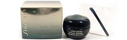 Anti-Aging Augen- und Lippencreme - Shiseido Future Solution Eye and Lip Contour Cream  — Bild N2
