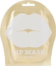 Düfte, Parfümerie und Kosmetik Hydrogel-Lippenmaske mit Obstgartenblumenextrakten - Kocostar Pearl Lip Mask