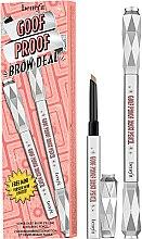 Düfte, Parfümerie und Kosmetik Augenbrauenpflegeset - Benefit Cosmetics Goof Proof Brow Deal Eyebrow Set (02 -Light)