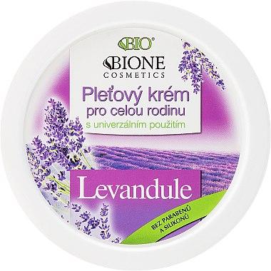 Pflegende Gesichtscreme mit Lavendel für die ganze Familie - Bione Cosmetics Lavender Facial Cream Whole Family — Bild N1