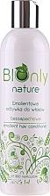 Düfte, Parfümerie und Kosmetik Aufweichender unparfümierter Conditioner für hochporöses, trockenes und strapaziertes Haar - BIOnly Nature Emollient Hair Conditioner