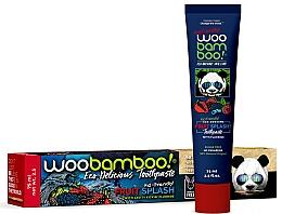 Düfte, Parfümerie und Kosmetik Kinderzahnpasta mit Fluorid und Fruchtgeschmack - Woobamboo Fruit Splash Toothpaste With Fluoride