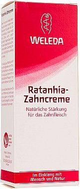 Rathania-Zahncreme - Weleda Rathania-Zahncreme — Bild N1