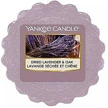 Düfte, Parfümerie und Kosmetik Tart-Duftwachs Dried Lavender & Oak - Yankee Candle Dried Lavender & Oak Tarts Wax Melt