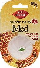 "Düfte, Parfümerie und Kosmetik Lippenbalsam ""Honig"" - Bione Cosmetics Honey Vitamin E Lip Balm"