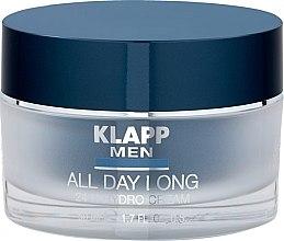 Düfte, Parfümerie und Kosmetik Hydro-Gesichtscreme für Männer - Klapp Men All Day Long 24h Hydro Cream