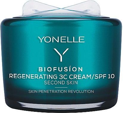 Regenerierende Gesichtscreme - Yonelle Biofusion Regenerating 3C Cream/SPF10 — Bild N1