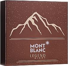 Düfte, Parfümerie und Kosmetik Montblanc Legend Might - Duftset (Eau de Parfum 100ml + After Shave Balsam 100ml + Duschgel 100ml)