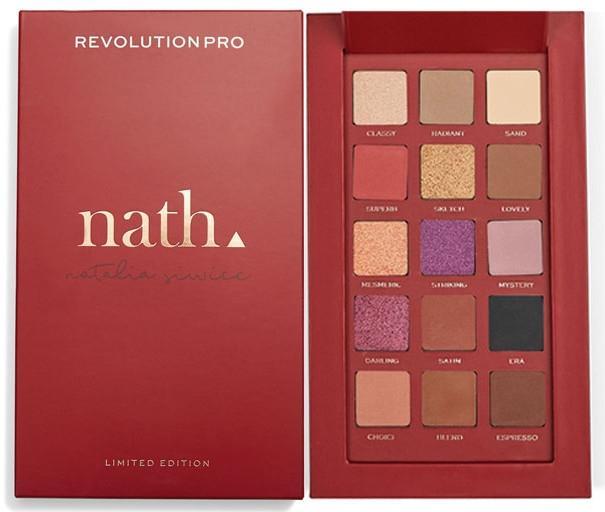 Lidschattenpalette - Makeup Revolution Pro X Nath Eyeshadow Palette — Bild N1