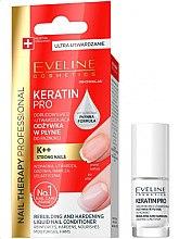 Düfte, Parfümerie und Kosmetik Nagelconditioner - Eveline Cosmetics Nail Therapy Professional Keratin Pro