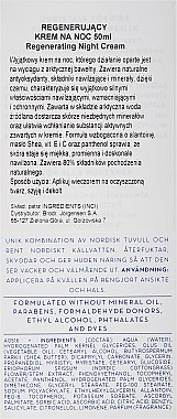 Regenerierende Nachtcreme für alle Hauttypen - Lumene Klassikko Restoring Night Cream — Bild N3