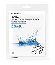 Düfte, Parfümerie und Kosmetik Tuchmaske mit tiefem Meerwasser - Lebelage Aqua Solution Mask