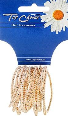 Haargummis White Collection weiß 18 St. - Top Choice — Bild N1