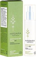 Düfte, Parfümerie und Kosmetik Intensives Feuchtigkeitsfluid für normale und Mischhaut - Madara Cosmetics EcoFace