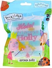 Düfte, Parfümerie und Kosmetik Kinder-Badeschwamm Ben & Holly Prinzessin Holly hellblau-weiß - Suavipiel Bath Sponge