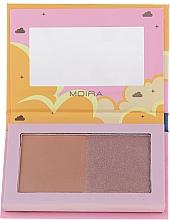 Düfte, Parfümerie und Kosmetik Gesichtsbronzer - Moira Golden Rays Bronzed Goddess Duo