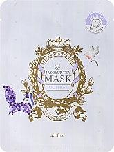 Düfte, Parfümerie und Kosmetik Beruhigende Gesichtsmaske mit Jasoyup-Tee - A:t fox Soothing Jasoyup Tea Mask