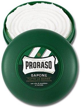 Rasierseife mit Menthol- und Eukalyptus - Proraso Green Shaving Soap — Bild N2