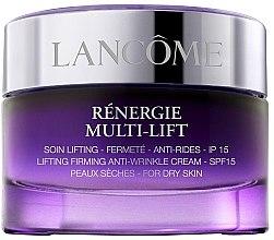 Düfte, Parfümerie und Kosmetik Straffende Anti-Falten Tagescreme für trockene Haut mit Lifting-Effekt - Lancome Renergie Multi-Lift Soin Jour Peaux Dry Skin SPF 15