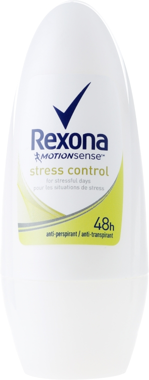 Deo Roll-on Antitranspirant - Rexona Antiperspirant Motionsense Stress Control Roll-on