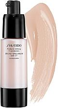 Düfte, Parfümerie und Kosmetik Anti-Age Foundation für eine strahlende Haut LSF 17 - Shiseido Radiant Lifting Foundation Broad Spectrum SPF 17