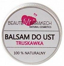 Düfte, Parfümerie und Kosmetik Natürlicher Lippenbalsam mit Erdbeerduft - Beaute Marrakech Lip Balm