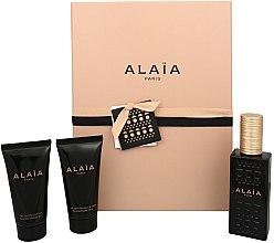 Düfte, Parfümerie und Kosmetik Alaia Paris Alaia - Duftset (Eau de Parfum 50ml + Körperlotion 50ml + Duschgel 50ml)