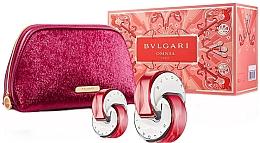 Düfte, Parfümerie und Kosmetik Bvlgari Omnia Coral - Duftset (Eau de Toilette 65ml + Eau de Toilette 15ml + Kosmetiktasche)