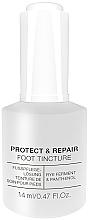 Düfte, Parfümerie und Kosmetik Schützende und reparierende Nageltinktur zur Prävention gegen Keime und Bakterien - Alessandro International Spa Protect & Repair Foot Tincture