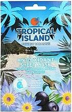Düfte, Parfümerie und Kosmetik Antioxidative Tuchmaske mit Acai-Beere und Lotusblume - Marion Tropical Island Phuket Paradise Antioxidant Sheet Mask