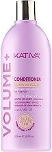 Haarspülung für Volumen und natürlichen Glanz - Kativa Volume + Conditioner — Bild N1
