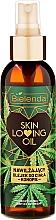 Düfte, Parfümerie und Kosmetik Feuchtigkeitsspendendes Hanf-Körperöl - Bielenda Skin Loving Oil Moisturizing Body Oil Hemp
