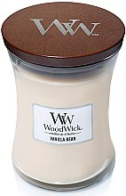 Düfte, Parfümerie und Kosmetik Duftkerze im Glas Vanilla Bean - WoodWick Hourglass Candle Vanilla Bean