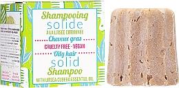 Düfte, Parfümerie und Kosmetik Festes Shampoo für fettiges Haar - Lamazuna Solid Shampoo For Oily Hair With Litsea Cubeba